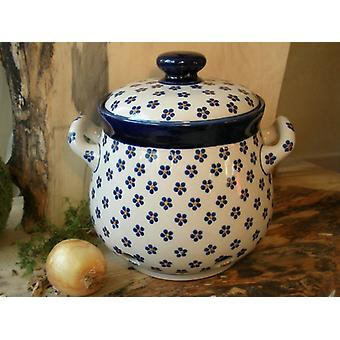 Onion pot, 3500 ml, 23 x 22 cm, tradition 3 - ceramic Upper Lusatia - BSN 4090