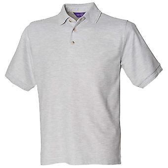 Henbury Mens manches courtes Ultimate couleurs 65/35 Polo Shirt S, M, L, XL, XXL, 3XL