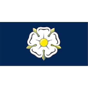 Yorkshire vlag 5 ft x 3 ft met oogjes voor verkeerd-om