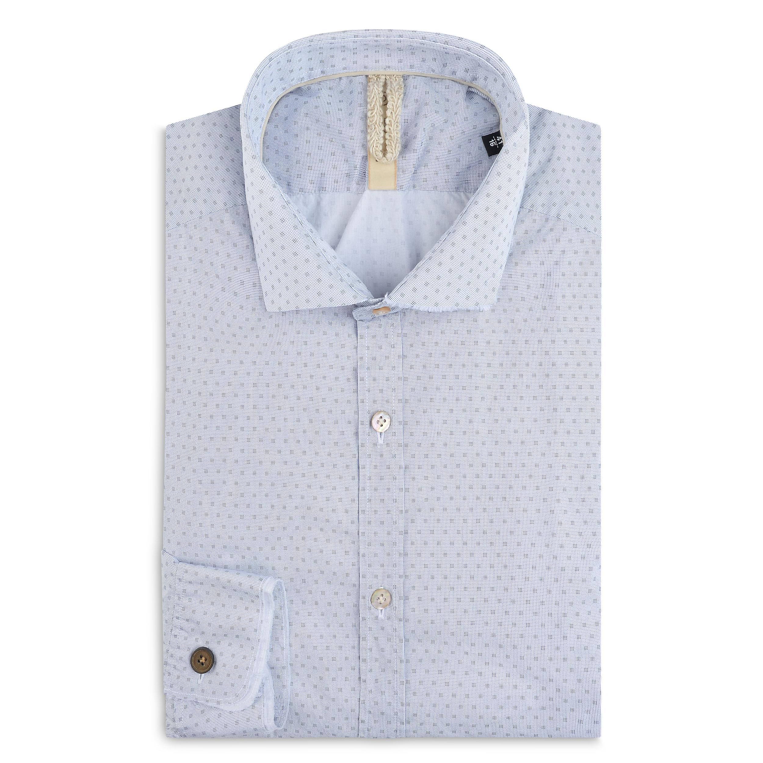 Fabio Giovanni Piccoli Shirt - Mens High Quality Italian Poplin Cotton Casual Shirt