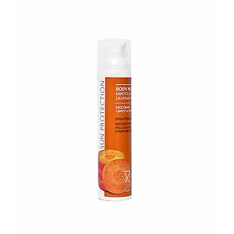 BODY MILK SPF 30 - High protection Snail Mucus and Carrot.