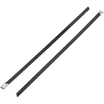 KSS BSTC-201L BSTC-201L Cable tie 201 mm 7.90 mm Black Coated 1 pc(s)
