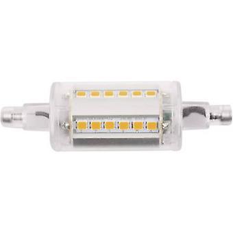 LightMe LM85118 LED (monochrome) EEC A++ (A++ - E) R7s Tubular 4.5 W Warm white (Ø x L) 24 mm x 78 mm 1 pc(s)