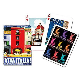 Viva Italia ensemble de jeux de cartes + Jokers