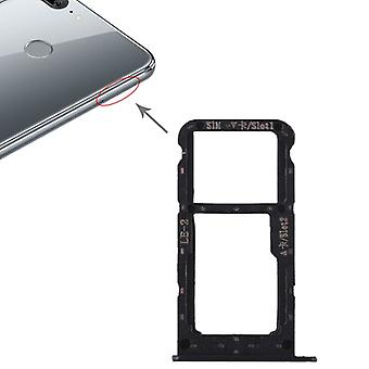 For Huawei honor 9 Lite cards Halter SIM tray slide holder black replacement new