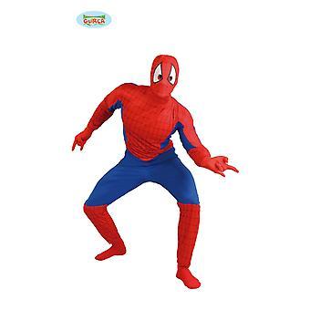 Spider costume for men Carnival superhero Action Hero