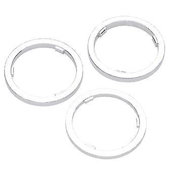 Point spacer rings for cassette hubs (set)