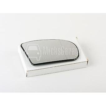 Vidrio espejo lateral del conductor derecho (calentado) y soporte para Mercedes E-CLASS 2002-2006