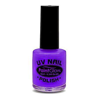 Éclat de peinture, néon UV rouge à lèvres