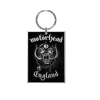 Logotipo de banda de lemmy de Motorhead llavero llavero Inglaterra warpig nuevo funcionario