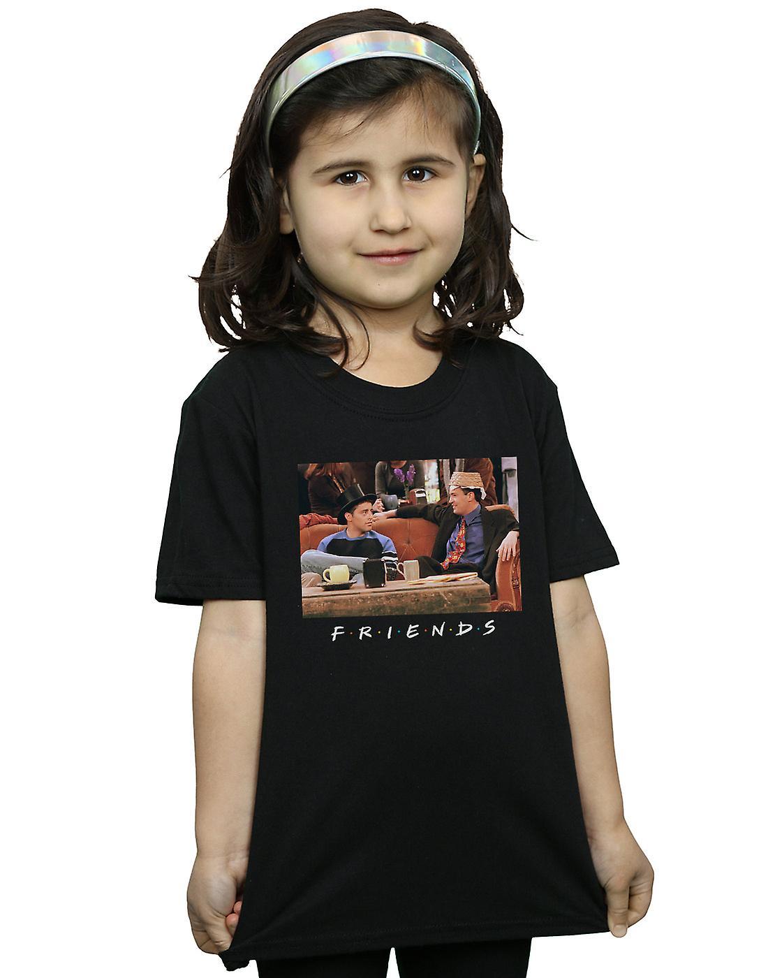 Friends Girls Joey And Chandler Hats T-Shirt