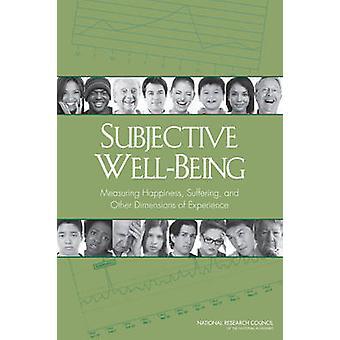 Subjective well-being-Glück - leiden- und anderen Di messen