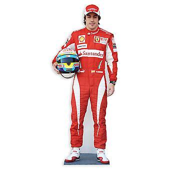 Fernando Alonso Lifesize karton gestanst / Standee / Standup