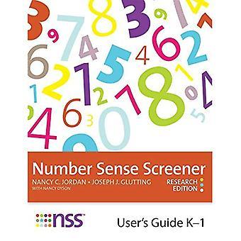 Number Sense Screener (NSS) User's Guide, K-1