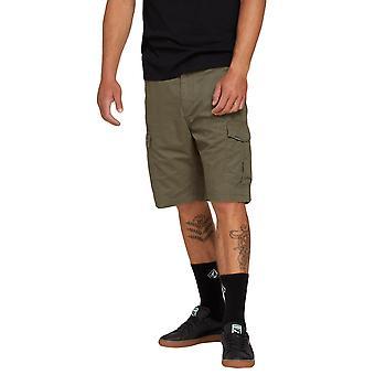 Volcom mäns Cargo Shorts ~ Mitra II Last oliv