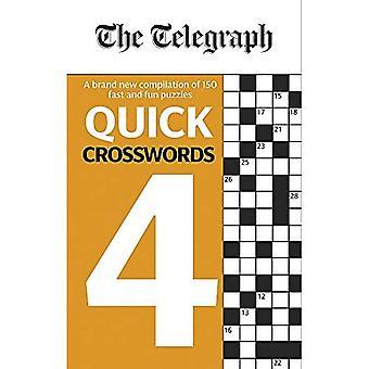 The Telegraph Quick Crosswords 4 (The Telegraph� Puzzle Books)