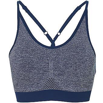 Asics 无缝女子跑步健身运动布拉