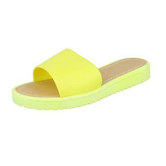 Senhoras Savannah aberto Toe Slip em sandálias