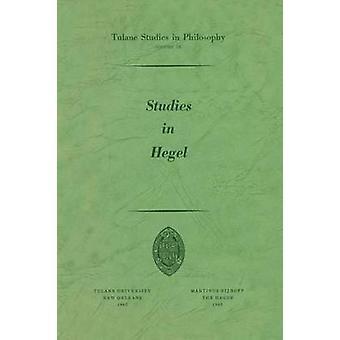 Studier i Hegel opptrykk 1960 av Brinkley & Alan B.