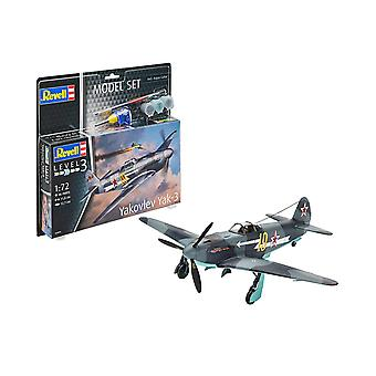 Revell 63894 1:72 Jakovlev Yak-3 Plastic Model Kit