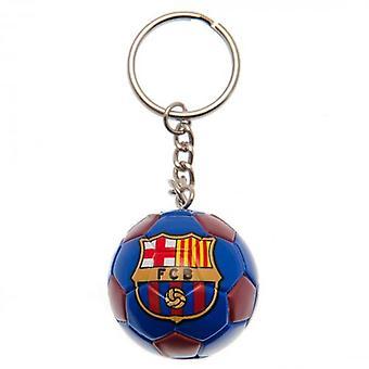 Barcelona Football Keyring