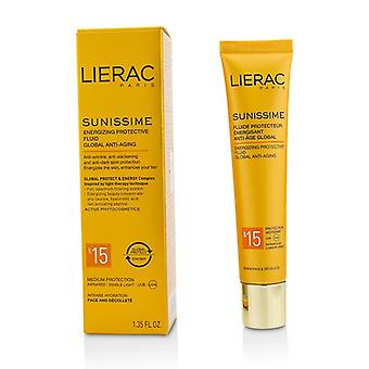 Lierac Sunissime Global Anti-Aging Energizing Protective Fluid SPF15 For Face & Decollete 40ml/1.35oz