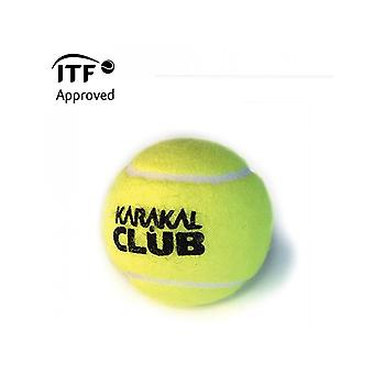 Karakal Club Tennis Ball ITF Approved Tournament Pressurised Ball - 1 Dozen
