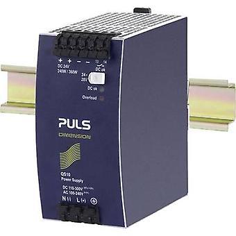 PULS DIMENSION السكك الحديدية التي شنت PSU (DIN) 24 V DC 10 A 240 W 1 x