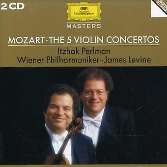 Perlman/Levine/Vienna Philharmonic Orch. - Mozart: The 5 violinkonserter [CD] USA import