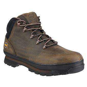 Timberland Pro Unisex Splitrock Lace Up Safety Boot Brown