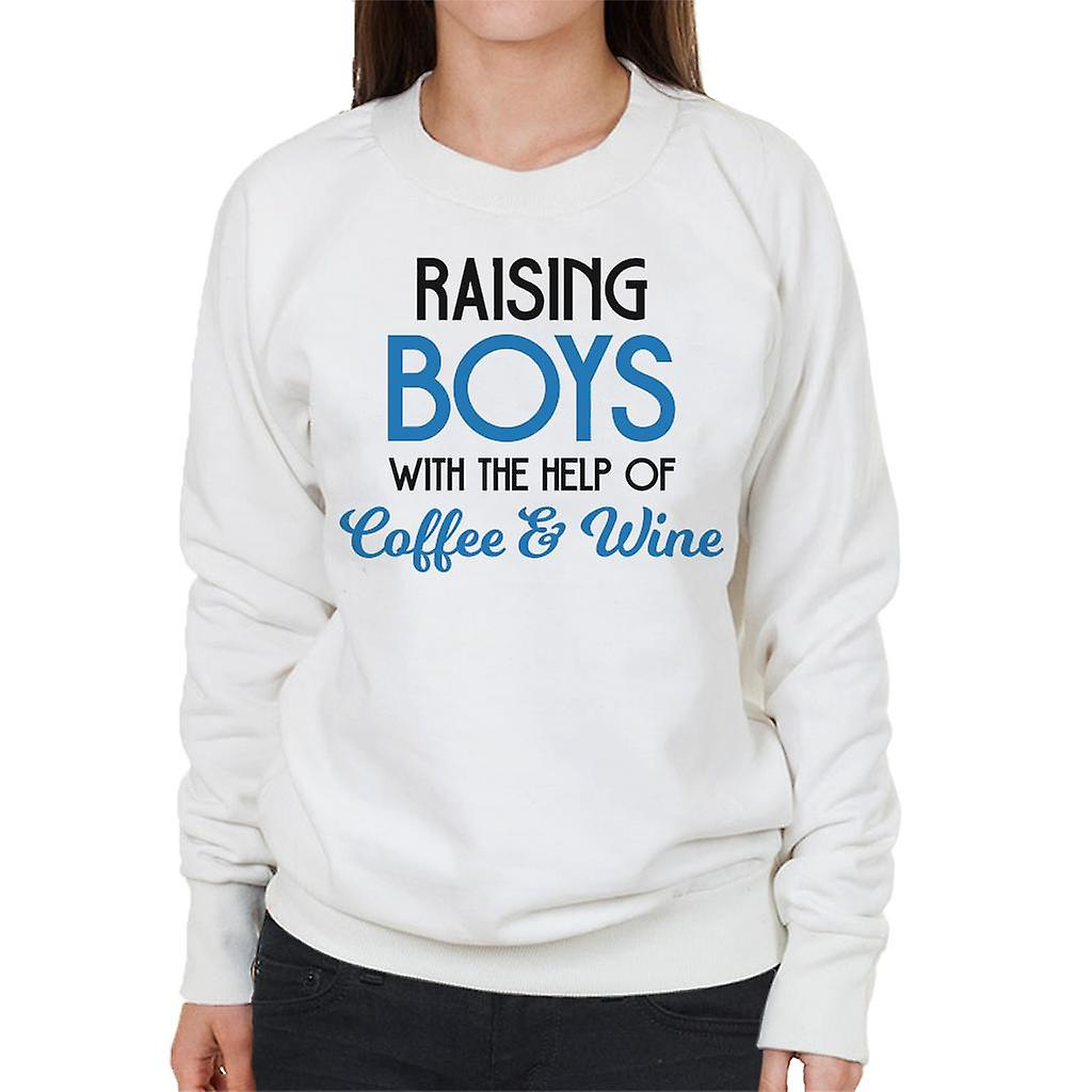 Coto7 Raising Boys Mens Sweatshirt