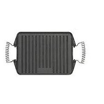Comgas fonte plancha réversible 27x47cm. Plaque à frire rectangulaire.