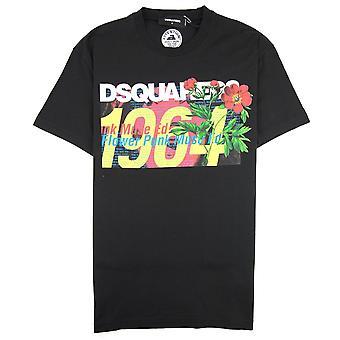 Dsquared2 1964 T-skjorte svart