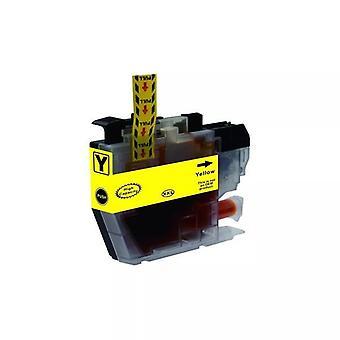 Brother Premium Compatible Yellow Inkjet Cartridge