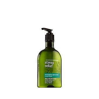 Kylpy & runko toimii aromaterapia alkuperäinen Eucalyptus Spearmint stressin Help otus käsi saippua 8 oz/236 ml (2 kpl pakkaus)