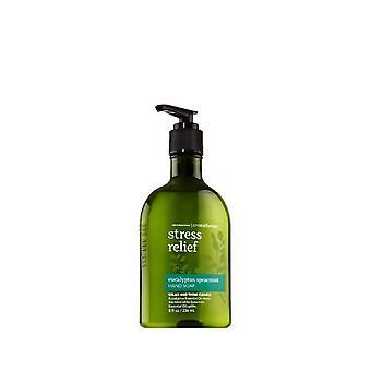 Bath & Body Works Aromatherapy Original Eucalyptus Spearmint Stress Relief Hand Soap 8 oz / 236 ml (Pack of 2)