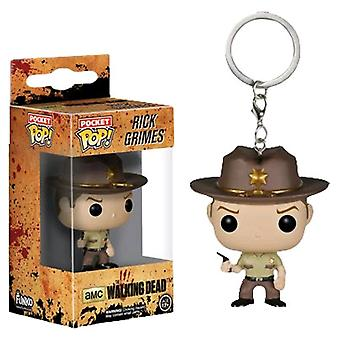 The Walking Dead Rick Grimes Pocket Pop! Keychain