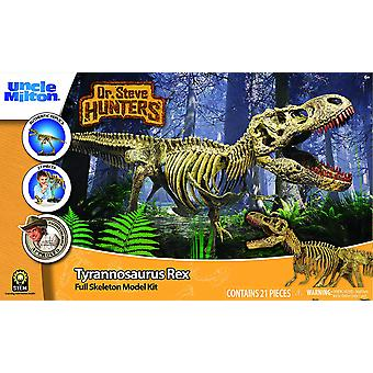 Dr Steve Hunters Dinosaur T. Rex Replica Model Skeleton  21 Pieces - 1:15 scale