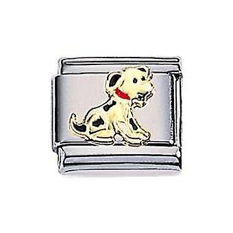 ZOPPINI S.Steel Dog Charm