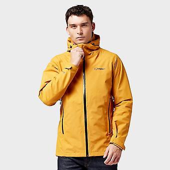 Nieuwe Berghaus men ' s ridgemaster geventileerde jas oranje