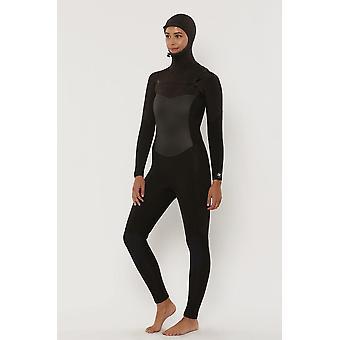 Sisstr 7 seas 5/4 hooded chest zip wetsuit
