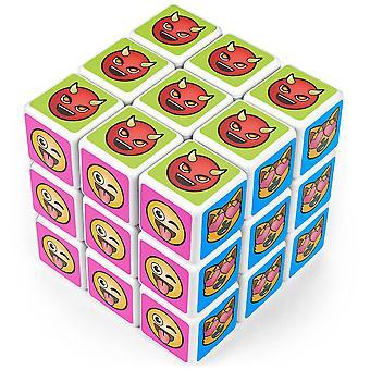 Kostka puzzle emoji