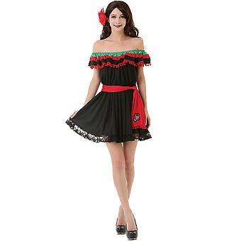 Spicy Senorita Adult Costume, L
