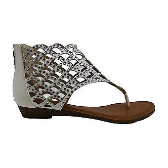 Zigi Soho Womens melaa Fabric Open Toe Casual T-Strap Sandals