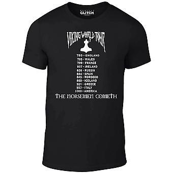 Viking wereld tour t-shirt