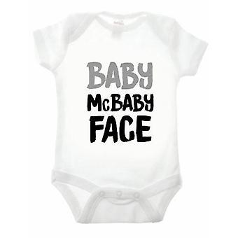 Baby my baby face babygrow