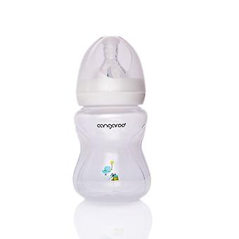 Baby bottle, drinking bottle C0562 Birdy 180 ml Boy silicone vacuum cleaner size 1 from birth