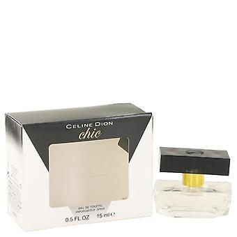 Céline dion chic mini edt spray par céline dion 502518 15 ml