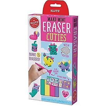 Klutz Make Mini Eraser cuties by luonut klutz