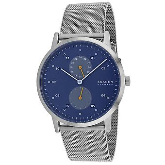 Skagen Men's Kristoffer Blue dial watch - SKW6525